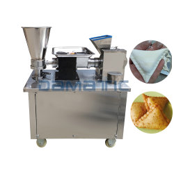 Samosa Raviolis chinos Maker Dumpling automático que hace la máquina