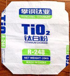 Multiwall collé du papier adhésif de tuiles de sacs de soupape