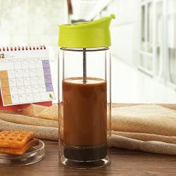 Franse Pers Koffie Maker Thee Koffie Pot Double Wall Frans Druk op de koffieplunjer