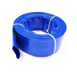 Rouleau de 4 pouces PVC à plat flexible Discahrge des eaux usées de la piscine