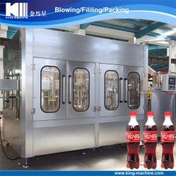 La fabricación automática de proveedor 3-en-1 de gas de llenado de botellas de bebidas máquina de envasado
