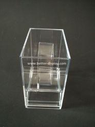 De acryl Doos van de Vertoning van de Doos van de Vertoning van het Horloge van de Klem van C Plastic btr-F1004