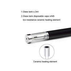 Lápiz de Vape desechables Aceite Verde Cbd E cigarrillo