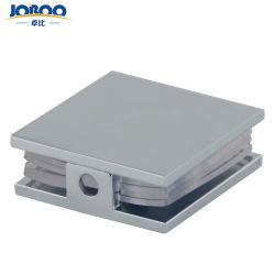 Commerce de gros de haute qualité en laiton personnalisée Salle de bains en verre carré de fixation de support de porte coulissante de mieux faire glisser les supports