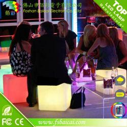 Mejor calidad de Presidente de la barra de promoción de asientos de cubo LED
