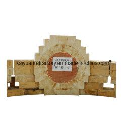 La alúmina de ladrillo de alto el fuego para la fabricación de acero