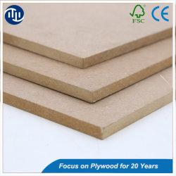 La Chine usine poncée MDF brut/Plain MDF, HDF /Mélamine MDF conseil