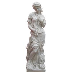 Камень в саду четыре сезона мраморная статуя женщины