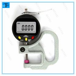 Digitale Maat 0.001mm/0.01mm van het Pand van de Indicator van de Dikte van de Wijzerplaat