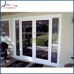 10 лет гарантии белого цвета из алюминия французскими дверями для балкон/дома