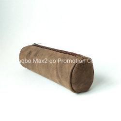 2019秋熱い販売法のブラウンPUの化粧品袋