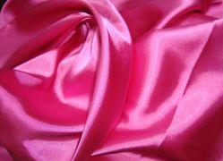 Tissu de polyester colorées lisse Satin pour habiller/vêtement/textile