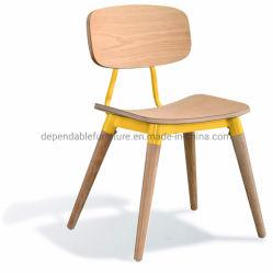 La couleur en option contreplaqué industriel Vintage refoulées Cafe chaise de salle à manger