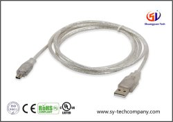 Câble USB à l'IEEE 1394 4 PIN Câble adaptateur Firewire Ilink