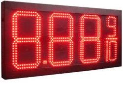 """Haute luminosité Hitechled 8"""" à 24 LED """" Signe du prix du gaz, chiffres LED Signe, LED Senal para el precio del combustible"""