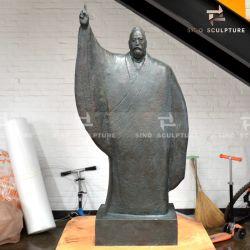 Moulage de la cire perdue de statues de bronze de différentes tailles