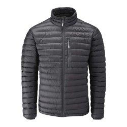 Les hommes Stand Collier Vêtements de dessus d'hiver de neige rembourrée occasionnel Bomber Jacket