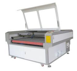 قماشة قماش ليزر آلة قطع مع نظام تغذية تلقائي