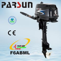 F6ABML، والتحكم في مبرد بقدرة 6 حصان، وبدء التشغيل اليدوي، والمحرك الخارجي طويل العمود الذي يعمل بأربعة أشواط