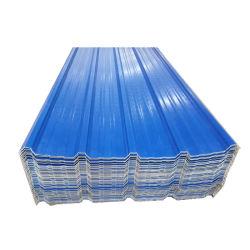 UPVC aislados de plástico corrugado Hoja de techado de 1070mm de UPVC la hoja de techo