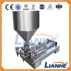 Machine de remplissage de liquide semi-automatique pour la crème/Oil/onguent/boissons