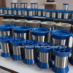 Peneira de microtrituração com 304 Fios de aço inoxidável ultra fina para a malha de tecelagem de Metal