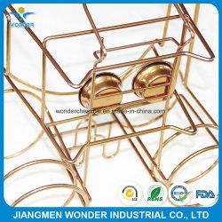 Metallic Gold Kupfer Pulverbeschichtung Farbe für Stahl Schublade Korb