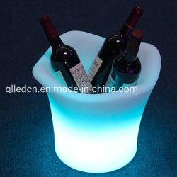 Colore portatile di RGB del ghiaccio che cambia la benna poco costosa della birra del fornitore della benna di vino del LED