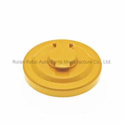 Tappo del serbatoio del combustibile per escavatore Komatsu PC300-8 PC350-8 PC450-8 Alto Coperchio diesel PC-8 di qualità e colore giallo in zinco 20y-04-11161 134-04-61180 134-04-71180