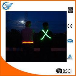 LED haute visibilité pour l'exécution de la courroie réfléchissant Marche et le cyclisme