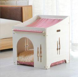 Disponible dans toutes les saisons enclins maison en bois massif animal de petite taille pour la ventilation