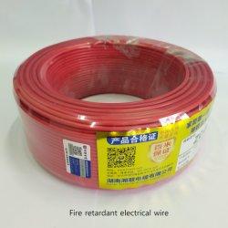 2.5 millimetri di IEC del conduttore del PVC del collegare elettrico del collegare 300V~500V 450V~750V della costruzione della Camera di collegamenti elettrici termoresistenti ignifugi isolati PE di rame del cavo elettrico