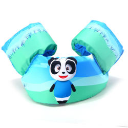 Panda bebé Traje de Baño chaleco de flotación del brazo de la seguridad del agua