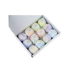 Sal de banho de bolhas coloridas personalizado Vegan Conjunto Bomba de banho orgânicos