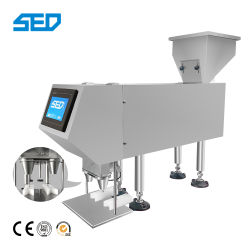 Semi-automatique de la tablette de désinfectant de l'embouteillage Capsule Machine de comptage de la machine