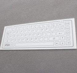 Ultrafino Anti-Fingerprint Impressão Silkscreen do teclado