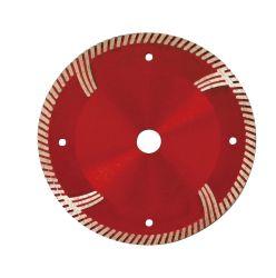 150*2.6/1.4*9*22.23mm de 6pouce Presse à chaud de lame de scie diamant Turbo pour béton armé de découpe à sec