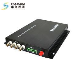موسع ألياف بصرية فائق الدقة طراز HD-SDI/Asi مع بيانات وصوت عبر الألياف