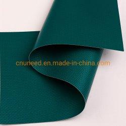 Listras clássico Verde/Branco PVC tecido de Debulhar