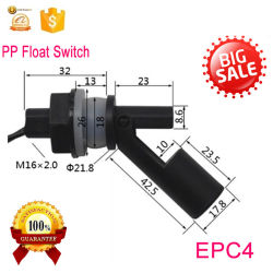 EPC4 Venta caliente Horizontal de montaje de gama alta nivel de agua líquida del sensor del depósito de interruptor de flotador para piscina