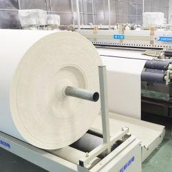 100% algodão CVC 40 fios Twwill Branco Cinzento bege bege tecido Tecido largo para roupa de cama uniforme