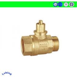 DC3.6V motorizado eléctrico válvula de control, tipo bola de latón, rosca macho/hembra DN15, la NP16 para HVAC/medidor de agua/aire acondicionado/calefacción de dosificación de alimentación
