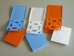 Farbe CD Case für 4pcs Disc
