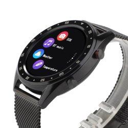 44mm de aço de Silicone Smartwatch D20 da pressão arterial freqüência cardíaca do ECG chamadas Discagem RELÓGIO DE FITNESS