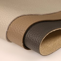 Groot Lichi Patroon 1.2mm de Dikke Stof van het Leer van het Suède Faux Steunende