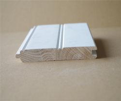 Wasserdichte weiße grundierte hölzerne Qualitäts-konkurrenzfähiger Preis hölzerne Wainsoct Innenwand