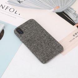Reiner Farben-Flanell-Handy-Fall-Deckel für iPhone Serie