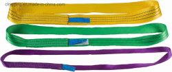 En1492-1 Sfの7:1ポリエステル無限の平らなウェビングの吊り鎖