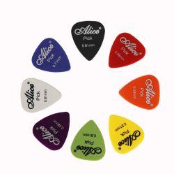 エレキギターの一突きの音響音楽はPlectrum 0.58/0.71/0.81/0.96/1.20/1.50mmの厚さのギターのアクセサリを選ぶ