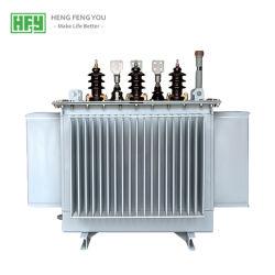 China sumergidos en aceite alimentación Transformador; 6.6kv 11kv 22kv 33kv 35kv a 0.4kv transformadores de distribución de energía eléctrica, 10-2500kVA transformador trifásico